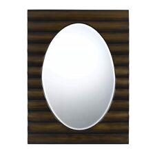 "Cal Lighting Cheyenne 36"" Tall Poly Urethane Mirror, Dark Bronze - Wa-2172Mir"