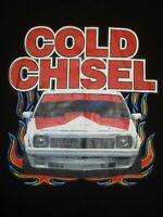 COLD CHISEL T SHIRT HOLDEN TORANA SIZE 16 BLACK FREE POSTAGE