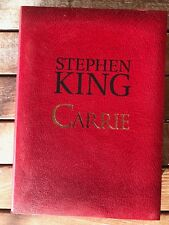 Stephen King's Carrie Artist Edition with portfolio by Cemetery Dance