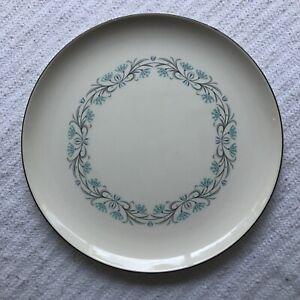 """Queen's Taste Homemaker Set Taylor Smith Taylor Vintage 10"""" Dinner Plate Blue"""