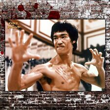 Vintage Film Poster Enter The Dragon Bruce Lee 50X70 CM