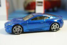 2008 Hot Wheels Aston Martin V8 Vantage Metalflake Dark Blue All Stars