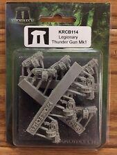 Kromlech Conversion Bitz: Legionary Thunder Gun Mk1 (9) (Bolt Gun, Bolter)