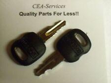 (2) 5P8500 Old Ignition Keys Fits Cat Caterpillar & ASV Positrack 0310-072 L1