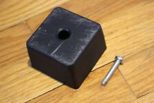 Ikea Manstad Sofa Leg Square Plastic Black Part # 117360