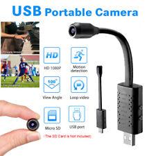 Flexible Smart Mini USB Camera 1080P 360° Loop Video Motion Detection Plug&Play