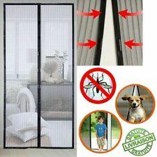 Moustiquaire Rideau de Porte Anti Moustique Aimantée Mouche Magnétique Fenêtre