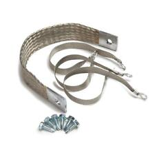 """Painless Wiring Electrical Ground Strap KIt 40140; Stainless 14.000"""" 1/0 Gauge"""