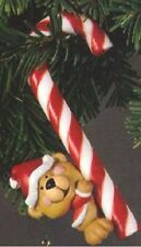 Vintage Hallmark Christmas Tree Ornament, dated 1979, bear with candy cane