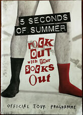 More details for 5 seconds of summer rock out with your socks out official tour programme 2014