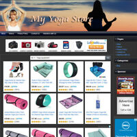 YOGA STORE - Fully Automated Affiliate Website, Online Business Website For Sale