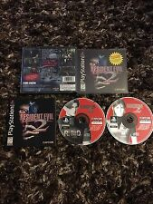 PS1 Resident Evil 2 Black Label CIB Complete L@@K