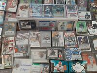 Football HOT Pack Lot - 3 Autos + 15+ Rookies RCs Guaranteed - Autograph Hits