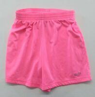 Champion Girls Size Medium (7-8) Pink Elastic Drawstring Waist Polyester Shorts