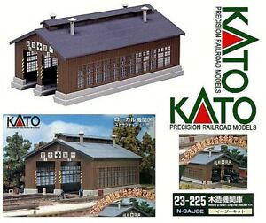 KATO 23-225 Kit and Storage Garage For Locomotive & Locomotives Colour Ladder-N