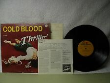 Cold Blood LP Thriller Very Clean 1973 Psych Rock Orig! Lydia Pense