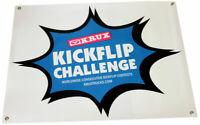 KRUX TRUCKS KICKFLIP CHALLENGE Logo Skateboard Banner 30 in X 36 in