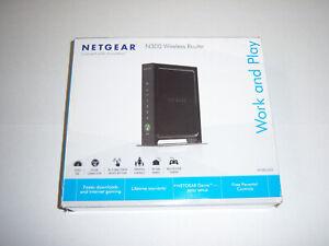 Netgear N300 300 Mbps 4-Port 10/100 Wireless N Router (WNR2000)