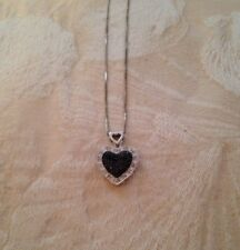 Blackstone Heart Necklace New Without Tags