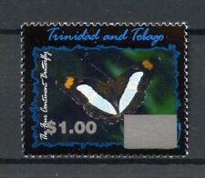 Trinidad & Tobago 2017 MNH 4 Continent Butterfly OVPT 1v Set Butterflies Stamps