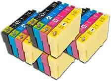 16 T1295 non-OEM Ink Cartridges For Epson T1291-4 Stylus Workforce WF-3520DWF