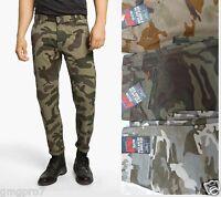 DOCKERS mens Alpha Slim Fit tapered leg camo khaki trousers pants 29 30 31 NEW