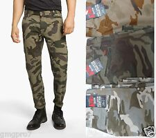 DOCKERS mens Alpha Slim Fit tapered leg camo khaki trousers pants 29 30 31 NEW