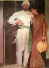 VINTAGE Cut 1990 s 'MC Call's' SARI & Mandarino Giacca/Pantalone Costume 8265 piccoli