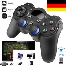 Doppelter Schock Wireless Joypad Kabellos Controller Gamepad für PS3 /Android/TV