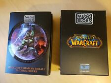 Shaman Thrall World of Warcraft Faction Figure BLIZZCON EXCLUSIVE Mega Bloks WoW