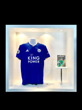 HARRY MAGUIRE MATCH WORN LEICESTER CITY SHIRT NOT BOOTS 2018