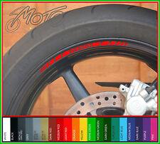 8 X Ducati Rueda Llanta Stickers Calcomanías-Muchos Colores-Monster 848 1198 1098 Evo