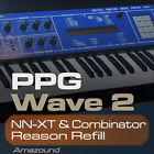 WALDORF PPG WAVE REASON REFILL 256 COMB & NNXT PATCHES 2048 SAMPLES 24b DOWNLOAD