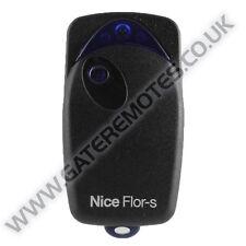 Nice Flo 1R Gate & Garage Door Remote Transmitter Key Fob