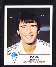 PANINI-CALCIO 80-n. 42 Paul JONES-Bolton