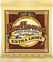 Ernie Ball 2006 Earthwood Extra Light 10 - 50 Acoustic Guitar Strings