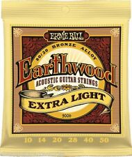 Ernie Ball 2006 Earthwood Extra Light 10 - 50 Acoustic Guitar Strings