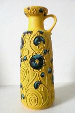 60s Bay Keramik Vase 46 cm ceramic west german fat lava céramique annees 60
