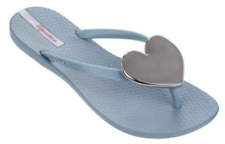 d7022caf617 Ipanema Women`s Flip Flops Wave Heart Sandal Gray   Silver Brazilian Sandals  6