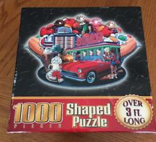 """""""Banana Split"""" 1000 PC Shaped Puzzle By Sure Lox - 2004 Edition - 100% Complete"""