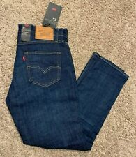 Levi's 511 Premium Slim Fit Stretch Blue Jeans Men's Sizes NWT RT$79 511-2186