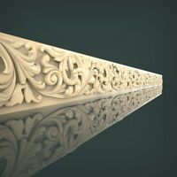 (1031) STL Model Moulding for CNC Router 3D Printer Artcam Aspire Bas Relief
