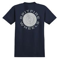 Spitfire Wheels T-Shirt Classic 87' Swirl Navy/Metallic
