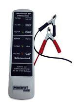 Batterietester, Lichtmaschinentester 12v LED Anzeige Kurzschlussfest Tester