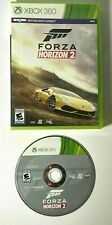 Forza Horizon 2 (Microsoft Xbox 360, 2014) GAME DISC & CASE MUSCLE EXOTIC CARS