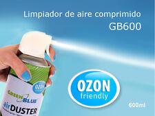 Greenblue limpiador de polvo aire comprimido para ordenador 600 ml Duster spray
