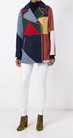 TORY BURCH jacket Jacke Mantel coat zweireihig M 38 – ASO CELEBRITY -TOP