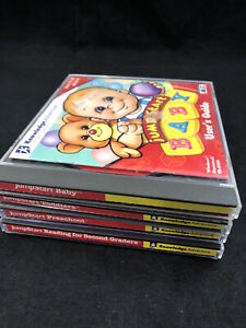 Jump Start LOT OF 4 PC Learning CD-ROM Preschool Reading Baby Toddlers