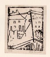 Rolf - Möller - Häuser - Holzschnitt - o. J. - Nr. 1