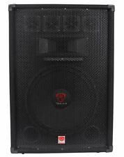 Rockville Rsg15.4 15� 3-Way 1500 Watt 4-Ohm Passive Dj/Pro Audio Pa Speaker